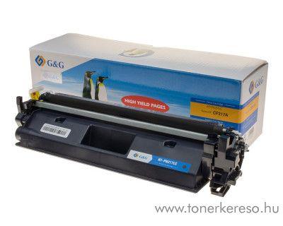 HP LaserJet Pro M102a/M130a utángyártott fekete toner GGHCF217A HP LaserJet Pro M130FN lézernyomtatóhoz