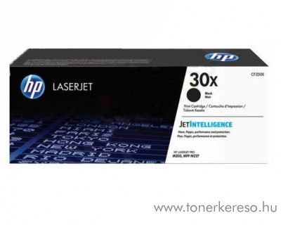 HP LaserJet Pro M203dn/M227sdn eredeti black toner CF230X HP LaserJet Pro MFP M227sdn G3Q74A lézernyomtatóhoz