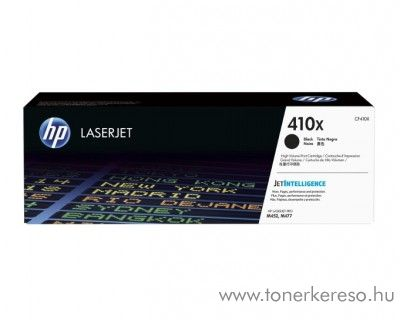 HP LaserJet Pro M452/M477 (410X) eredeti black toner CF410X HP Color LaserJet Pro M477fnw lézernyomtatóhoz