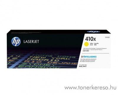 HP LaserJet Pro M452/M477 (410X) eredeti yellow toner CF412X HP Color LaserJet Pro M477fnw lézernyomtatóhoz