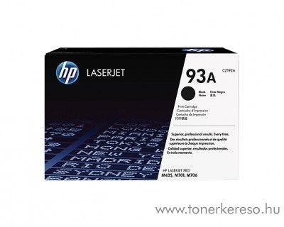 HP LaserJet Pro M701/M706 (93A) eredeti black toner CZ192A HP LaserJet Pro M706 lézernyomtatóhoz