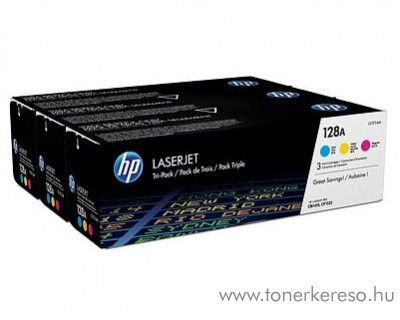 HP LaserJetPro CM1415 (128A) eredeti color toner pack CF371AM