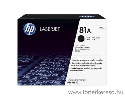 HP M630 (81A) eredeti black toner CF281A HP LaserJet Enterprise Flow MFP M630z lézernyomtatóhoz
