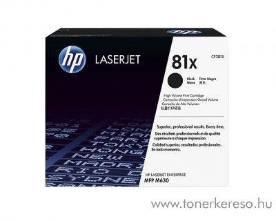 HP M630 (81X) eredeti black toner CF281X HP LaserJet Enterprise MFP M630f lézernyomtatóhoz