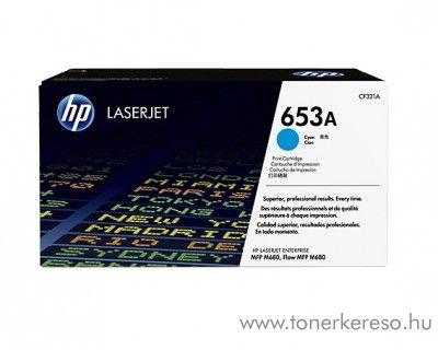 HP M680/680z (653A) eredeti cyan toner CF321A HP Color LaserJet Enterprise MFP M680f lézernyomtatóhoz