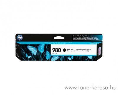 HP MFP X585z/X555dn (980) eredeti black tintapatron D8J10A HP Officejet Enterprise Color X585dn tintasugaras nyomtatóhoz