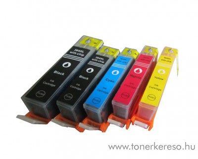 HP Officejet 4620 (364XL) utángyártott 5 db-os patroncsomag  HP Photosmart 5522 e-All-in-One  tintasugaras nyomtatóhoz