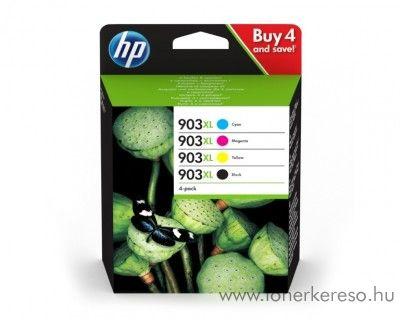 HP OfficeJet 6950/6960 eredeti BK/C/M/Y patron csomag 3HZ51AE HP OfficeJet Pro 6964 tintasugaras nyomtatóhoz