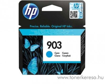 HP Officejet Pro 6960 (903) eredeti cyan tintapatron T6L87AE HP OfficeJet 6950 All-in-One tintasugaras nyomtatóhoz