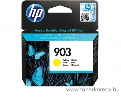 HP Officejet Pro 6960 (903) eredeti yellow tintapatron T6L95AE HP OfficeJet 6950 All-in-One tintasugaras nyomtatóhoz