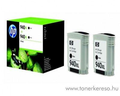 HP OfficeJet Pro 8000 (940XL) 2db eredeti black patron D8J48AE HP Officejet Pro 8000 tintasugaras nyomtatóhoz