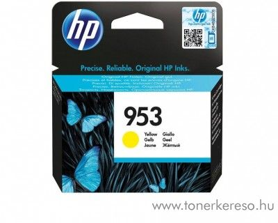 HP Officejet Pro 8210 (953) eredeti yellow tintapatron F6U14AE