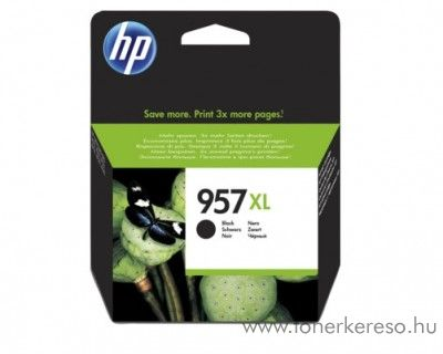 HP Officejet Pro 8210 (957XL) eredeti black tintapatron L0R40AE