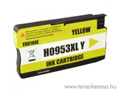 HP Officejet Pro 8210 utángyártott yellow tintapatron GGHF6U18AE HP OfficeJet Pro 8710 tintasugaras nyomtatóhoz