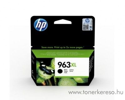 HP OfficeJet Pro 9010 (963XL) eredeti fekete tintapatron 3JA30AE HP OfficeJet Pro 9013 All-in-One tintasugaras nyomtatóhoz