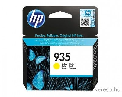 HP OfficejetPro 6830 (935) eredeti yellow tintapatron C2P22AE