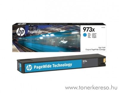 HP PageWide Pro 452 (973X) eredeti cyan tintapatron F6T81AE