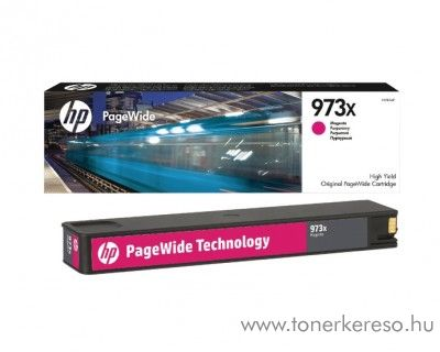 HP PageWide Pro 452 (973X) eredeti magenta tintapatron F6T82AE