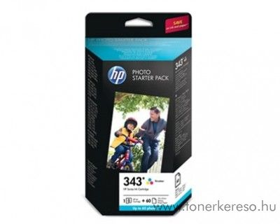 HP Photosmart serials (343) eredeti photo csomag Q7948EE HP OfficeJet 7410 tintasugaras nyomtatóhoz