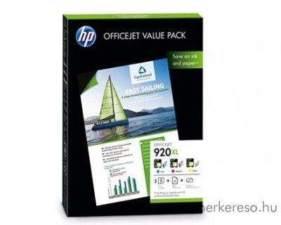 HP OfficeJet 6000 (920XL) eredeti photo csomag CH081AE HP Officejet 6500A tintasugaras nyomtatóhoz