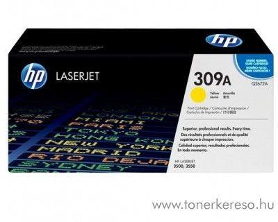HP Q2672A (No 309A) yellow toner HP Color LaserJet 3550N lézernyomtatóhoz