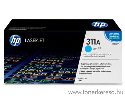 HP Q2681A (No 311A) cyan toner HP Color LaserJet 3700ND lézernyomtatóhoz