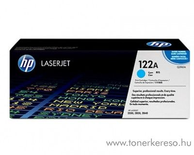 HP Q3961A (No 122A) cyan toner HP Color LaserJet 2800 lézernyomtatóhoz