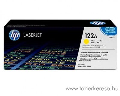 HP Q3962A (No 122A) yellow toner