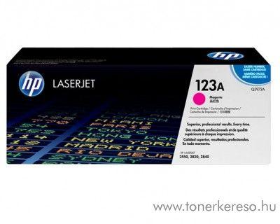 HP Q3973A (No 123A) magenta toner HP Color LaserJet 2550 lézernyomtatóhoz