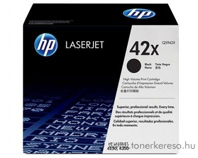 HP Q5942X toner HP LaserJet 4250dtnsl lézernyomtatóhoz
