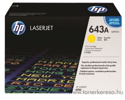 HP Q5952A (No 643A) yellow toner