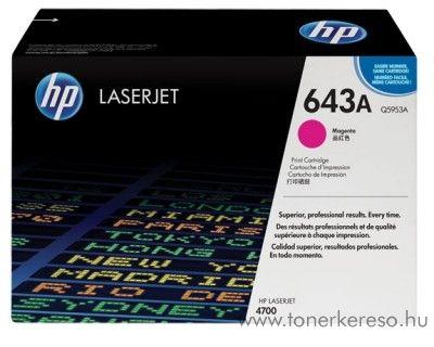 HP Q5953A (No 643A) magenta toner HP Laserjet 4700DN lézernyomtatóhoz