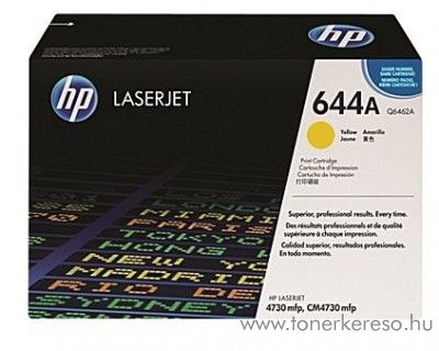 HP Q6462A (No 644A) yellow toner