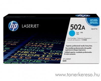 HP Q6471A (No 502A) cyan toner