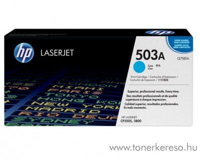 HP Q7581A (No 503A) cyan toner