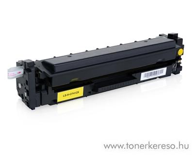 HP LaserJet Pro M452/M477 utángyártott yellow toner FUHCF412X HP Color LaserJet Pro M477fnw lézernyomtatóhoz