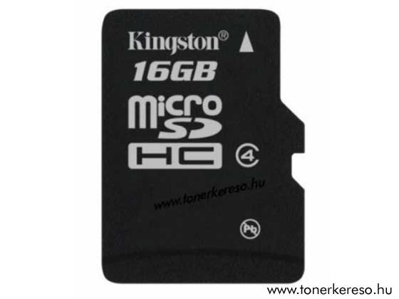 MicroSD KINGSTON 16GB Class4