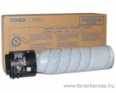 Konica Minolta BizHub 164 (TN116) eredeti black toner A1UC050