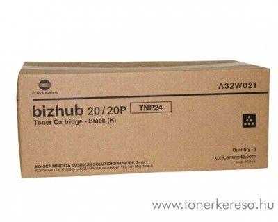 Konica Minolta BizHub 20 (TNP24) eredeti black toner A32W021 Konica Minolta Bizhub 20P lézernyomtatóhoz