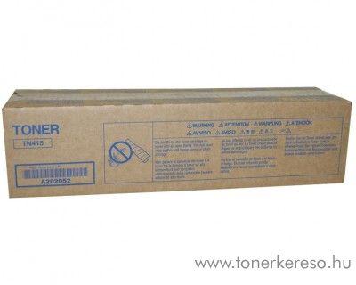 Konica Minolta BizHub 42 (TN415) eredeti black toner A202052