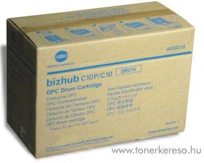 Konica Minolta BizHub C10 (DR210) eredeti black drum 4059218 Konica Minolta Bizhub C10X fénymásolóhoz