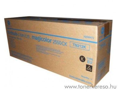 Konica Minolta BizHub C10 (TN212K) eredeti black toner A00W472 Konica Minolta Bizhub C10X fénymásolóhoz