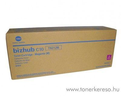 Konica Minolta BizHub C10 (TN212M) eredeti magenta toner A00W272 Konica Minolta Bizhub C10 fénymásolóhoz
