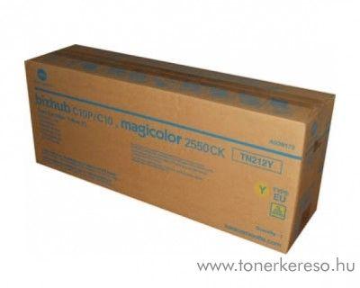Konica Minolta BizHub C10 (TN212Y) eredeti yellow toner A00W172 Konica Minolta Bizhub C10P fénymásolóhoz