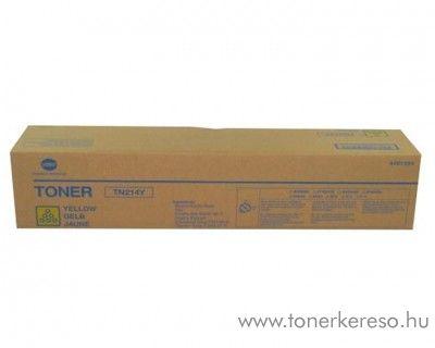 Konica Minolta BizHub C200 (TN214Y) eredeti yellow toner A0D7254 Konica Minolta Bizhub C200 fénymásolóhoz