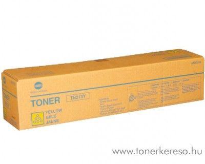 Konica Minolta BizHub C203 (TN213Y) eredeti yellow toner A0D7252 Konica Minolta Bizhub C203 fénymásolóhoz