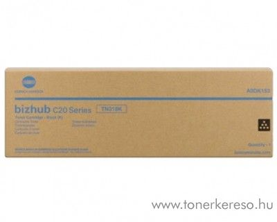 Konica Minolta BizHub C20 (TN318K) eredeti black toner A0DK153 Konica Minolta Bizhub C20 fénymásolóhoz