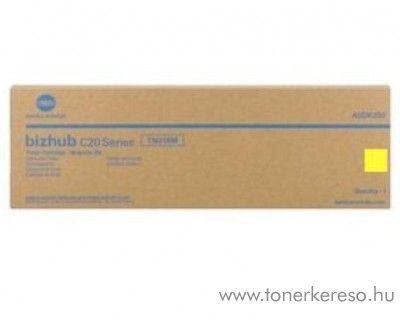 Konica Minolta BizHub C20 (TN318Y) eredeti yellow toner A0DK253 Konica Minolta Bizhub C20 fénymásolóhoz
