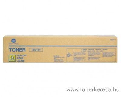 Konica Minolta BizHub C250 (TN210Y) eredeti yellow toner 8938510 Konica Minolta BizHub C252 fénymásolóhoz