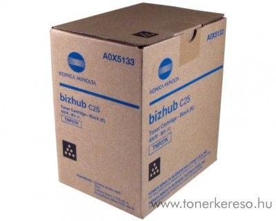 Konica Minolta BizHub C25 (TNP27K) eredeti black toner A0X5153 Konica Minolta BizHub C25 fénymásolóhoz